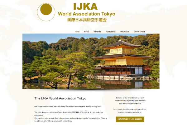 Karate Webprojekt